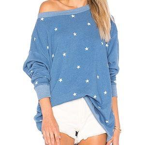 Gray Wildfox Couture Star Roadtrip Pullover